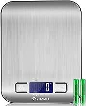 ETEKCITY Báscula Digital de Cocina, báscula electrónica