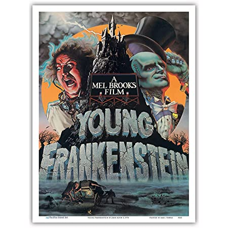 146520 Young Frankenstein Decor Wall Print POSTER