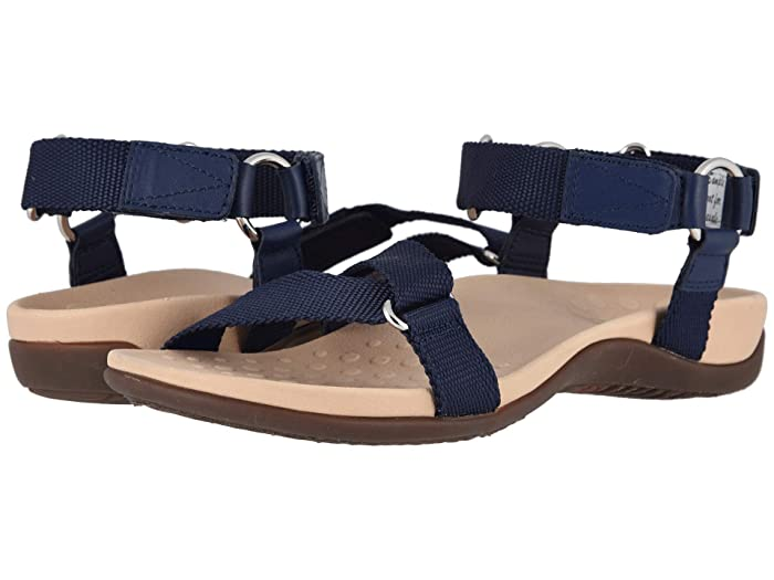 VIONIC  Candace (Navy) Womens Dress Sandals