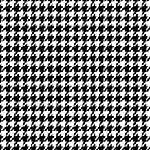 Siser EasyPatterns Heat Transfer Vinyl HTV for T-Shirts 18 by 12 Inches (Houndstooth Classic)