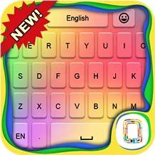 Rainbow Love keyboard theme
