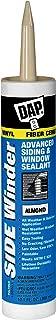 DAP 813 Winder Advanced Polymer Siding and Window Sealant, 10.1 Oz, Cartridge, Paste, Almond
