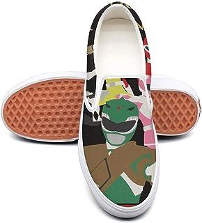 Plimsolls for Mens GAKIIER Fashion Boys Power-Rangers-Pattern