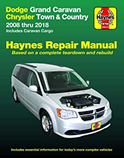 Dodge Grand Caravan & Chrysler Town & Country (08-18) (Including Caravan Cargo) Haynes Manual (Does not include information specific to all-wheel drive or diesel engine models.) (Haynes Repair Manual)