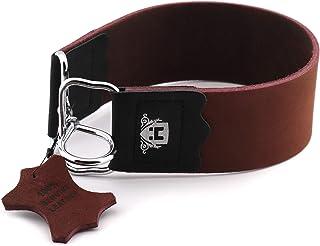 Haryali London Lederen Stropping Slijpen Strop Belt Sharpener voor Alle Soort Mes & Rechte Scheermes Randen