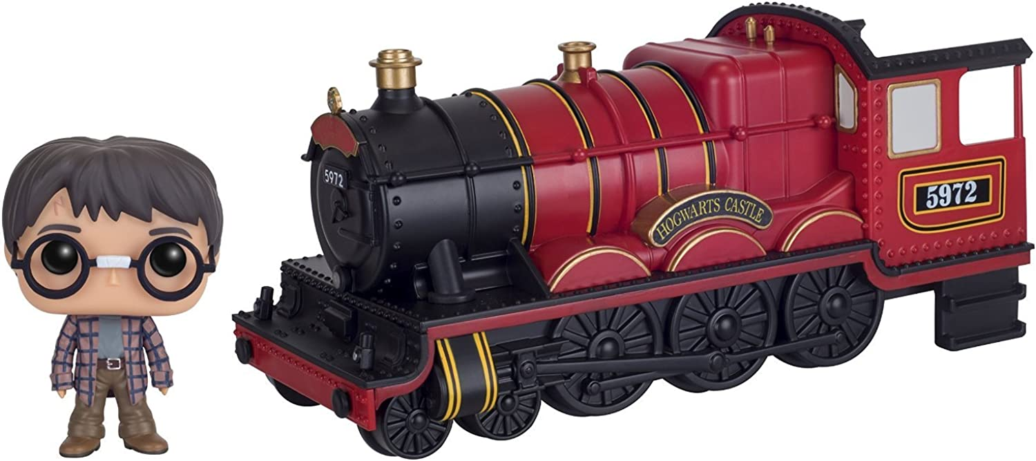 Funko POP Rides  Harry Potter  Hogwarts Express Engine with Harry Potter Action Figure