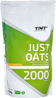 Just Oats – 2kg Premium Hafervollkornmehl – Instant Hafer-Mehl geeignet als Mahlzeitenersatz & Frühstück