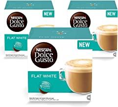 Nescafe Dolce Gusto - Flat White Coffee Pods 16 Drinks 3 box