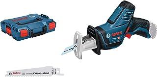 Bosch Professional GSA 12V-14 - Sierra sable a batería (sin batería, 12V, 0 - 3000 cpm, profundidad de corte 65 mm, en L-BOXX)