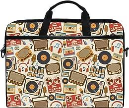 Carla Lalli Music ImageHandbag Laptop Briefcase, Multi-Functional Shoulder Messenger Bag for Notebook Computer Tablet.
