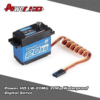 Power HD LW-20MG 20Kg Waterproof High Torque Digital Servo with Metal Gear for RC 1/10 1/8 Off-road Car Buggy Truck