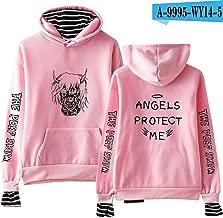 Lil Peep Falling Down Hell Boy Hoodies Sweatshirt Black White 3D Print Colorful Unisex Angels Protect ME 1