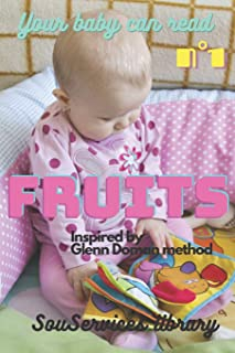 Your baby can read: Fruits: 1