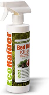 Bed Bug Killer by EcoRaider 16 oz, Fast and Sure Kill with Extended Residual Protection,..