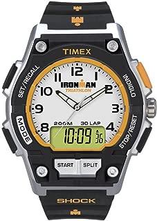 Ironman White Dial Plastic Strap Unisex Watch T5K200