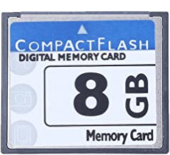 SODIAL R  Professional 8GB Compact Flash Memory Card White Blue