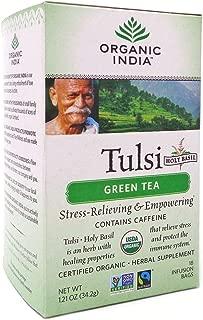 Best organic tulsi green tea bags Reviews