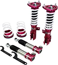 Godspeed MSS0102-C MonoSS Coilover Lowering Kit, Fully Adjustable, Ride Height, Spring Tension And 16 Click Damping, for Kia Forte Koup(TD) 2010-13