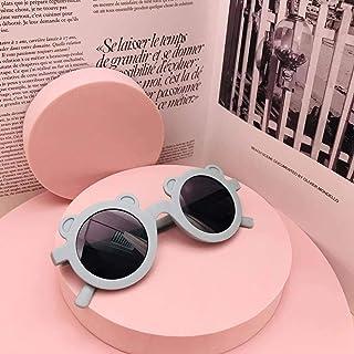N-B - N-B Nuevas Gafas de Sol de Dibujos Animados para niños adorables con Forma de Oso, Gafas de Sol para niñas y niños, Gafas de Sol Redondas para bebés y niños, Sombras Bonitas
