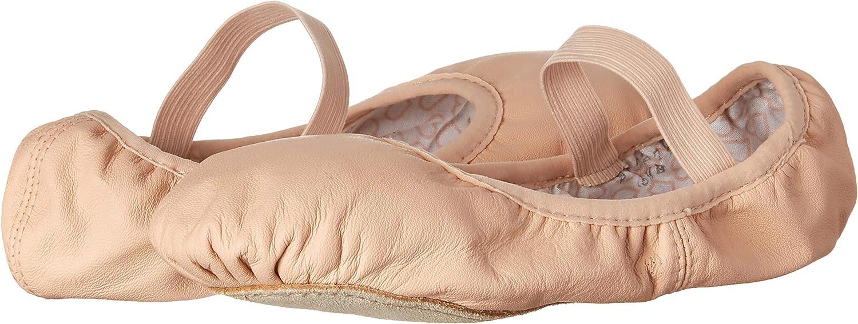 Bloch Women's Dance Belle Full-Sole Leather Ballet Shoe/Slipper, Pink, 6 C US