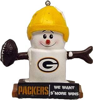 FOCO NFL Team Logo Thematic Smores Holiday Ornament
