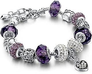 Best purple charm bracelet Reviews