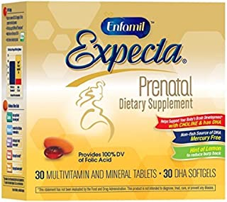 Enfamil Expecta Prenatal Dietary Supplement 30 ea (Pack of 11)