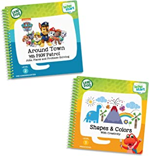 LeapFrog LeapStart 2 Book Combo Pack: Shapes & Colors & Around Town with PAW Patrol