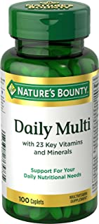 Nature's Bounty Daily Multi, 100 Caplets, 100 Count