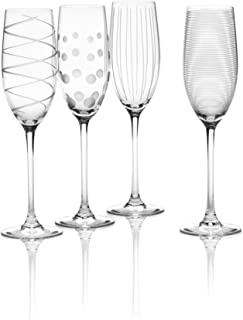 Mikasa Cheers Champagne Flutes, Set of 4