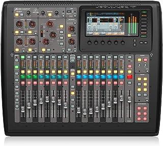 Behringer X32 Compact - Mezclador para DJ (40 Bit, 100 Db, 10-22000 Hz, 10000 Ohmio, 0,006%, TFT) Negro