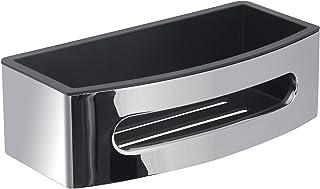Gedy Maldive Slides Shower,cromall 热塑性,树脂,铬/黑色,27 x 13 x 7.8