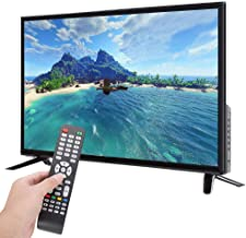 Wosume TV Ultra-Thin Flat Screen HD LCD Television 42 Inch Physical Resolution 19201080 BCL-32A/3216D Smart TV Black (US Plug)