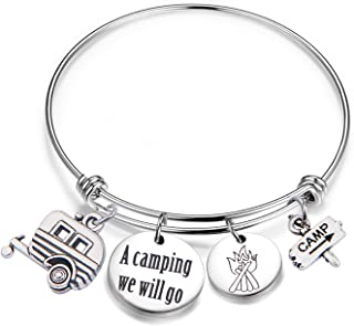 camping themed jewelry