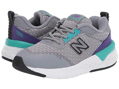 New Balance Kids 515v2 Sport (Infant/Toddler) (Gunmetal/Prism Purple) Kids Shoes