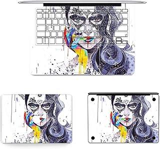 طبقة حماية كاملة من CHNAN 3 في 1 MB-FB16 (60) + طبقة حماية كاملة للوحة المفاتيح + طبقة سفلية لجهاز MacBook Air 13.3 بوصة A...