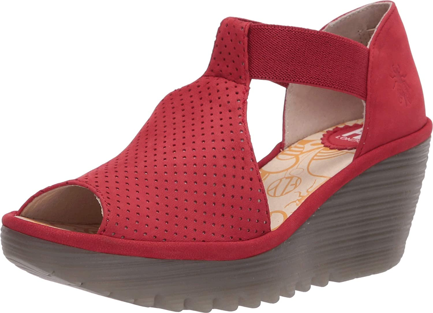 FLY Complete Free Shipping London Women's Yemo146Fly 25% OFF Wedge Sandal