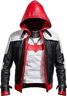 batman arkham leather jacket