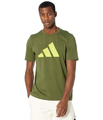 adidas Branded Icons Badge of Sport Tee (Wild Pine) Men