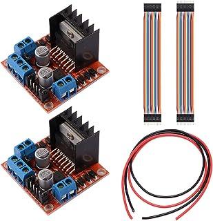 Youmile 2 STUKS L298N Motor Drive Controller Board DC Dual H-Bridge Robot Stappenmotor Controle en Drives Module voor Ardu...