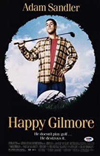 fc8d4f7d7ae Adam Sandler Autographed Signed Happy Gilmore 11X17 Movie Poster  Memorabilia PSA/DNA COA Ad74543