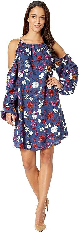 Cold Shoulder Dress D4-8582