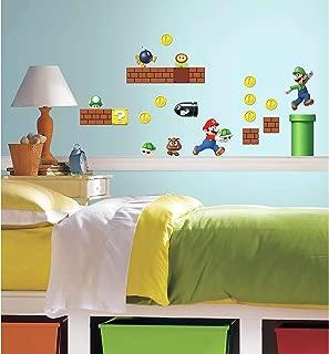 RoomMates Nintendo Super Mario Build A Scene Peel And Stick Wall Decals - RMK2351SCS