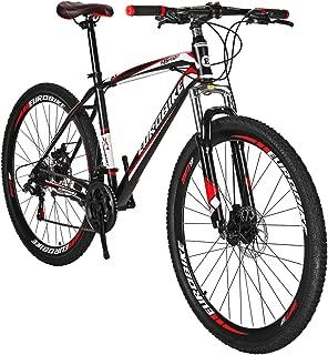 Eurobike EURX1 29 Inch Wheels Mountain Bike 21 Speed MTB Bicycle Suspension Fork Mountain Bicycle