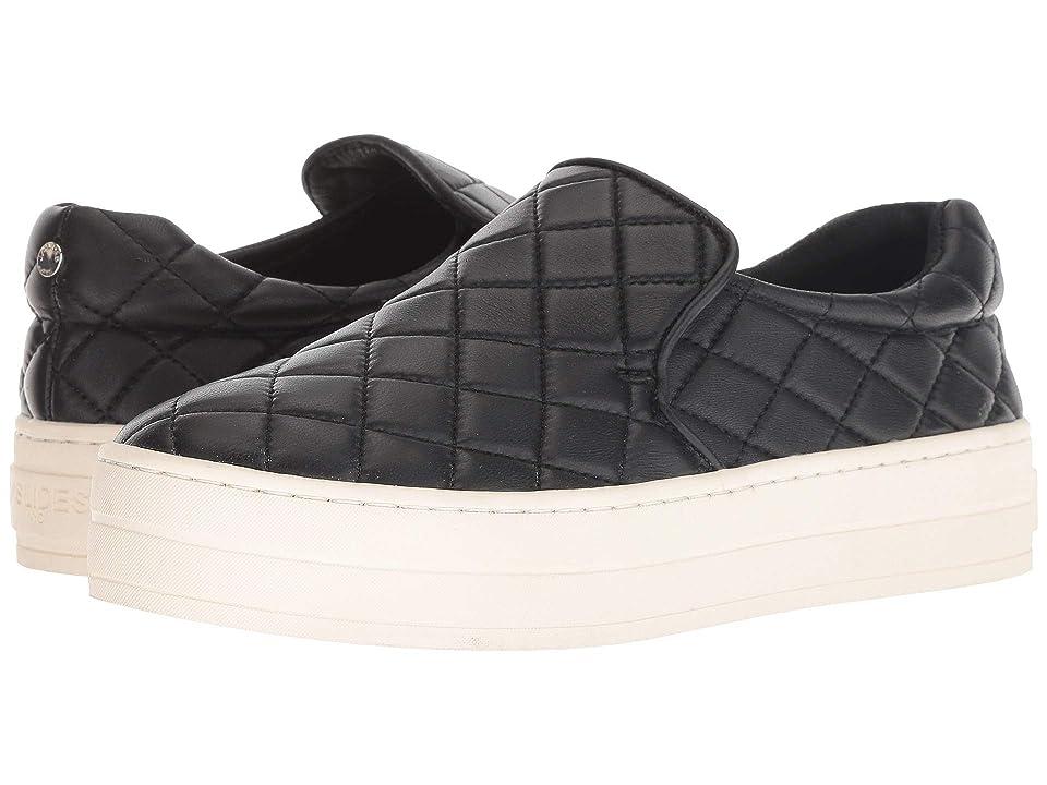 J/Slides Harlee (Black Leather) Women