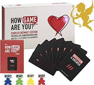 How Game Are You? Couples Intimacy Game for Valentines Day Gifts ❤️ 203 Conversation Cards Create The Perfect Adult Game for Couples to add Extra Spark and Connection to Your Relationship. Best Couples Game Cards for You, as a Gift or Date Night Box. Australian Developed NEW.