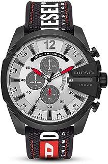 ساعة ميجا تشيف كرونوغراف للرجال من ديزل - طراز DZ4512 - اسود