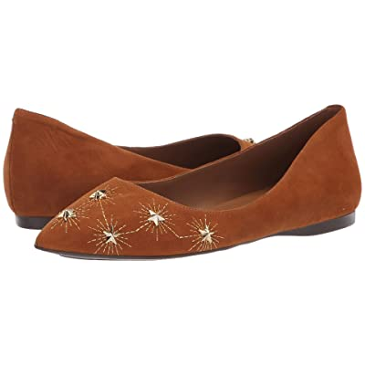 French Sole Cunning Flat (Cuoio Suede) Women