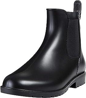 [shevalues] 防水 レイン シューズ 男女兼用 高級 モデル 小雪用 雨靴 晴雨兼用 台風でも対応 サイドゴア レインブーツ rainboots(22.0cm~26.5cm)