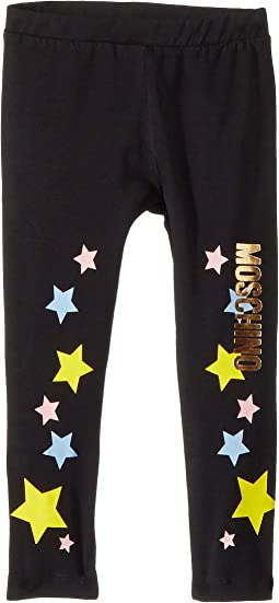 Logo Star Print Leggings (Infant/Toddler)